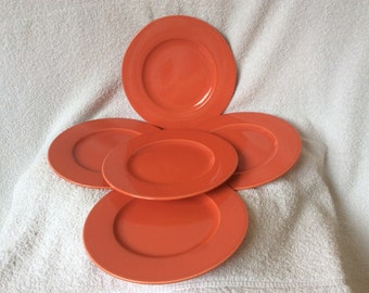 Pagnossin Treviso Italian Coral Red Salad, Starter or Dessert Plates
