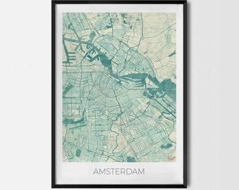 "Poster ""Amsterdam"""