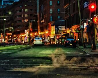 Boston Before Daybreak