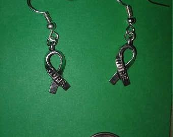 Hope - Breast Cancer Earrings