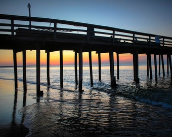 Sunset Under Pier