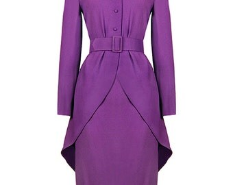 Jean Patou Silk Dress