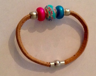 Cord Cork Bracelet