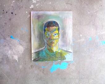 My man Original aclylics painting