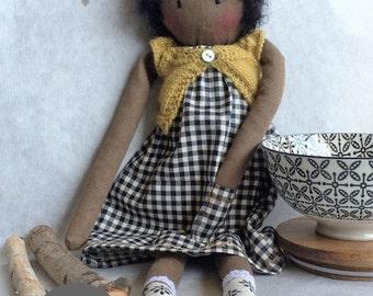 Stofpop Black Doll # 2 Sue
