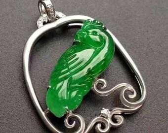 Jade pendant, Natural