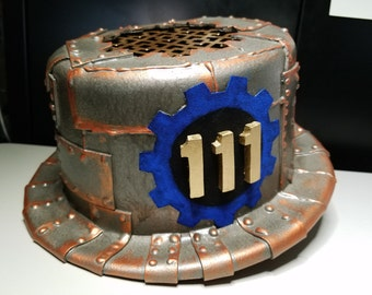 Steampunk Fallout 4 Vault 111 Top Hat