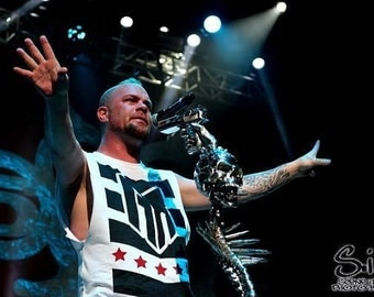 Ivan Moody of FFDP Canvas Print