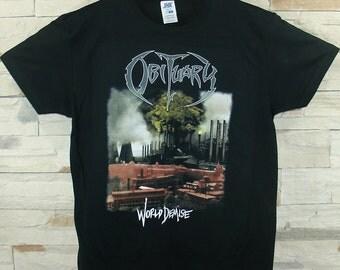 Obituary World Demise, black shirt