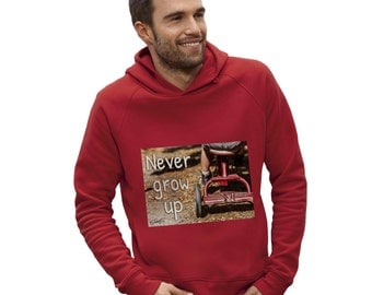 Men's Never Grow Up Hoodie