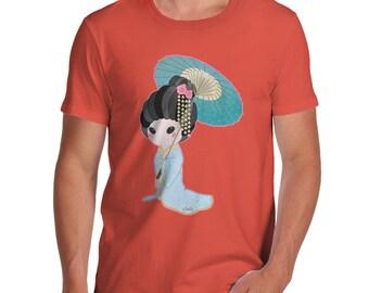 Men's Hanako Blue T-Shirt