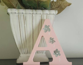 Hand painted wall letters