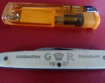 1937 coronation pen knife