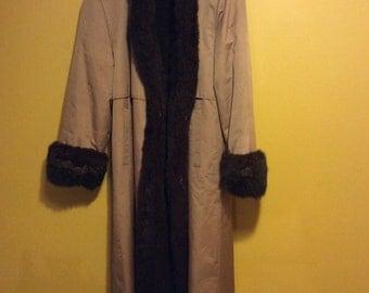 Vintage 1950's Pre Owned Reversible Fur coat