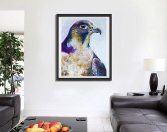 Custom Bird Painting
