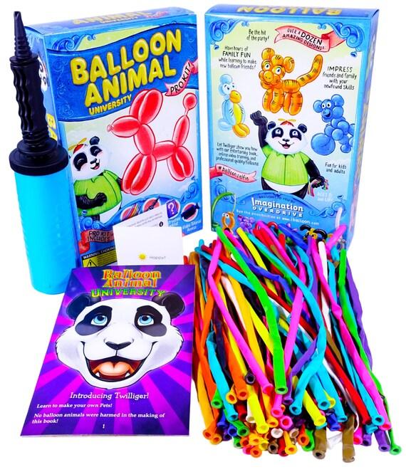 Balloon Animal University PRO Starter Kit. 50 Balloons W