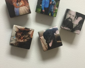 Personalized Picture Magnets