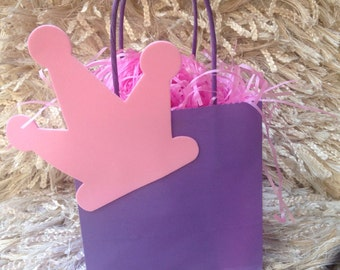 Princess themed party bags