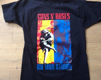 Original vintage guns n roses t shirt from 1992