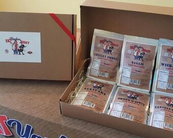 6 Beef Jerky Gift Box