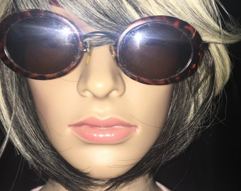 Vintage Brown Rim Frame Sunglasses