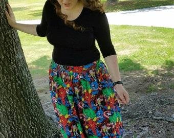 Custom Made Gathered Skirt