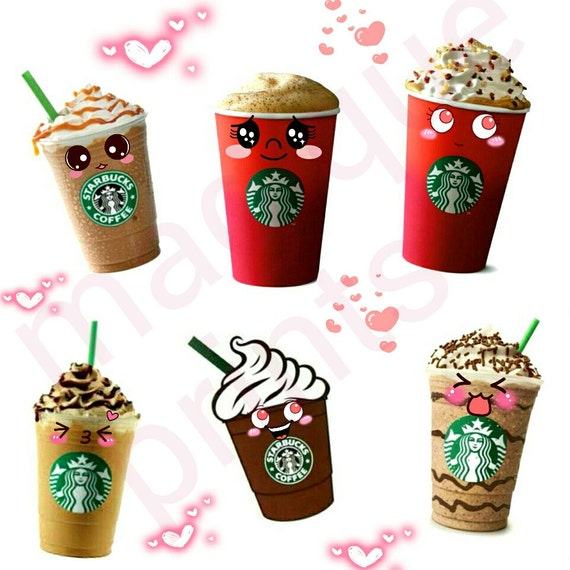 ... stickers, coffee stickers, digital stamps, digital clipart, coffee