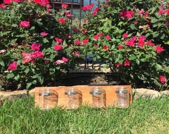 Country Mason Jar Wall Decor