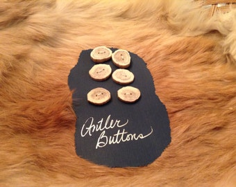 Antler Buttons
