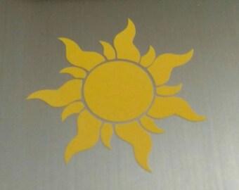 Tangled sun/ star of Corona
