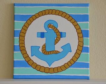 Anchors Aweigh- Blue