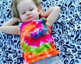 Kids tie dye shirt