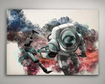 Nautilus League of Legends Watercolor Poster