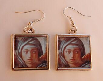 Michelangelo earrings 1