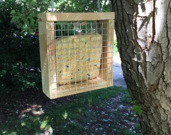 Cedar Suet Bird Feeder, Hanging Bird Feeder, Suet Bird Feeder