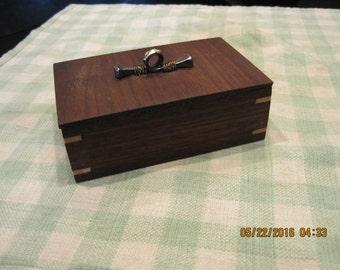 Trinket box, wooden box, ring box, small storage, Scandinavian design