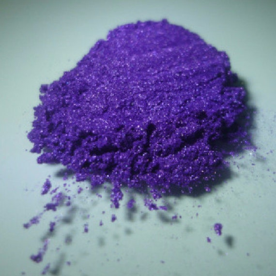 Irridescent Violet Pearlescent Pigments