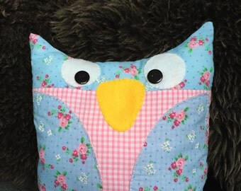 Sew Your Own Shabby Chic Owl Cushion