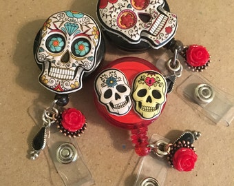 Small sugar skull cadge holder