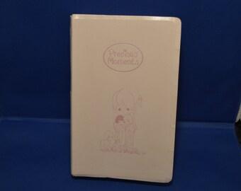 Vintage Pink Precious Moments Bible