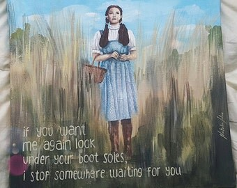 The Wizard of Oz Painting (Personalized)