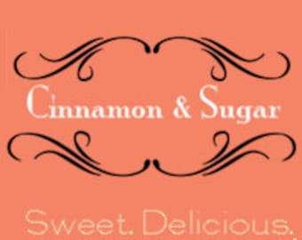 Cinnamon and Sugar Soy Candle