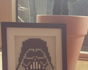 Darth Vader in the 3D picture frame