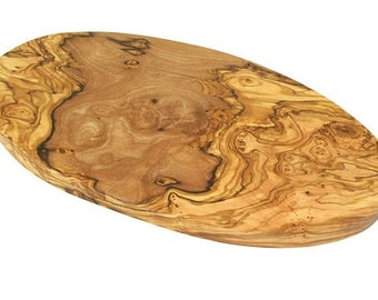 Olive wood Oval Board 30 cm