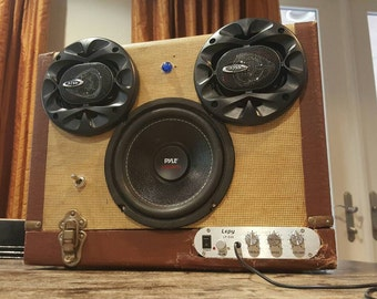 Projector Bluetooth Boombox