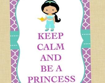 Jasmine Keep Calm Art