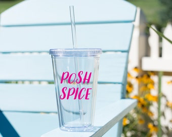 Posh Spice tumbler // spice girls mug // spice girls gift // group gift // group costume // gift for friends // gift for her // throwback