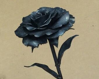 Metal Roses
