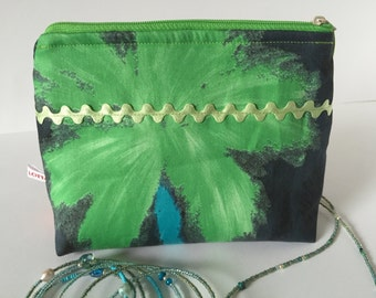 Ashes of cosmetic make up bag Pouch Gift Green