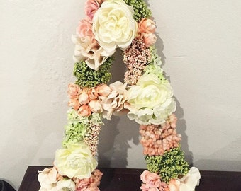 Floral Custom Letters